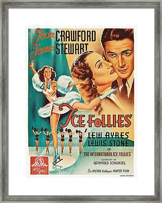The Ice Follies Of 1939, Aka Ice Framed Print by Everett