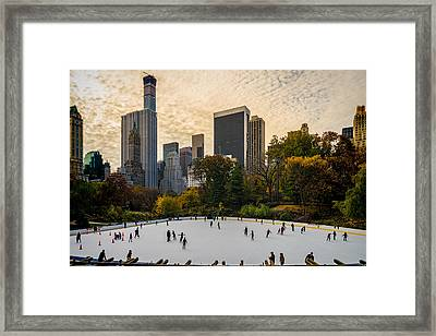 The Ice Was Nice Framed Print by Chris Lord