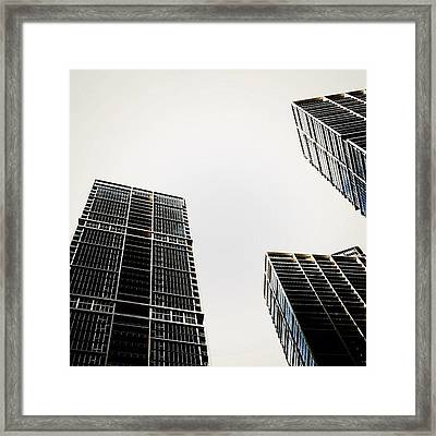 The Icon Bldg. Complex - Miami Framed Print