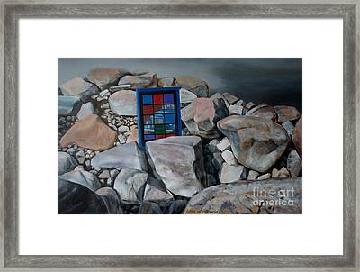The Icon Of Today Framed Print by Jukka Nopsanen