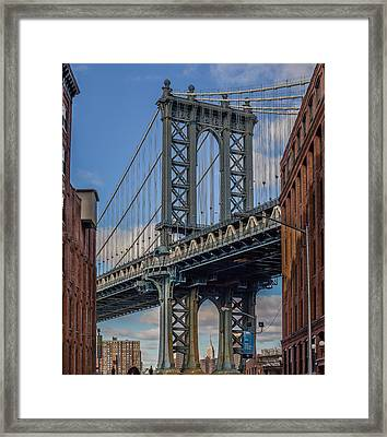 The Iconic Bridge Framed Print