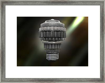 The Idea Machine Framed Print by Allan Swart