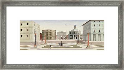 The Ideal City Framed Print by Fra Carnevale