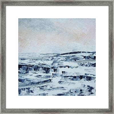 The Idle Rocks Framed Print by Sally Kelly