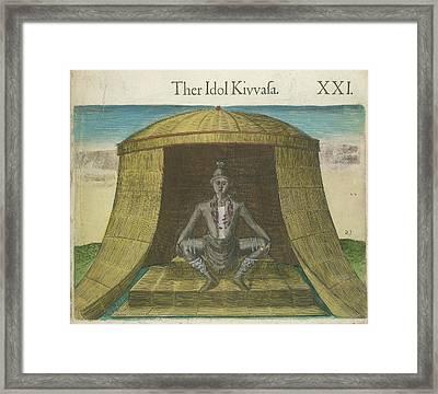 The Idol Kivvasa Framed Print by British Library