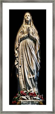 The Immaculate Conception Framed Print by Lee Dos Santos