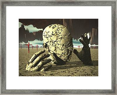 Framed Print featuring the digital art The Immutable Dream by John Alexander