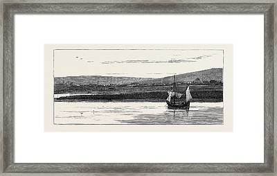 The Impending War, Silistria, On The Danube Framed Print