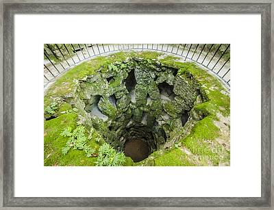 The Imperfect Well Framed Print by Deborah Smolinske