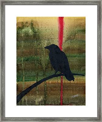 The Impossibility Of Crows Framed Print by Jim Stark