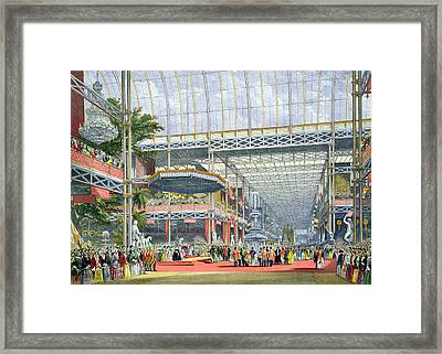 The Inauguration, From Dickinsons Framed Print