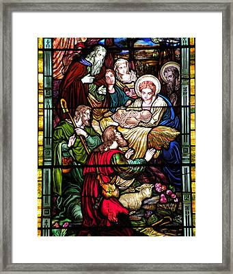 The Incarnation - Madonna And Child Framed Print by Kim Bemis