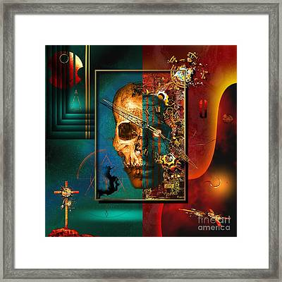 The Inconceivability Of The Being Framed Print