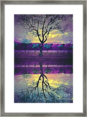 The Inconsistent Tree Framed Print by Tara Turner
