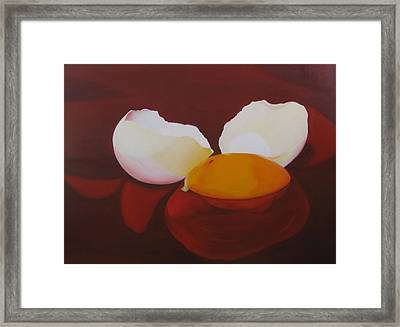 The Incredible Egg Framed Print