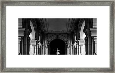 The Incredible Lightness Of Being Framed Print by Larry Butterworth