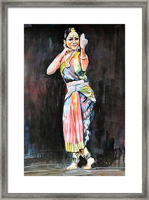 The Indian Dancer Framed Print