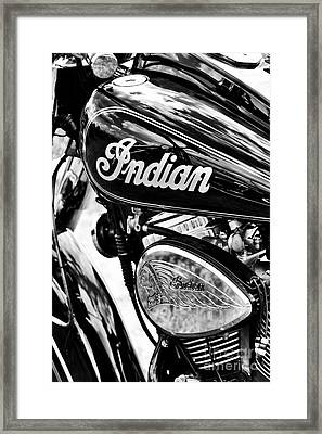 The Indian Chief Framed Print by Tim Gainey