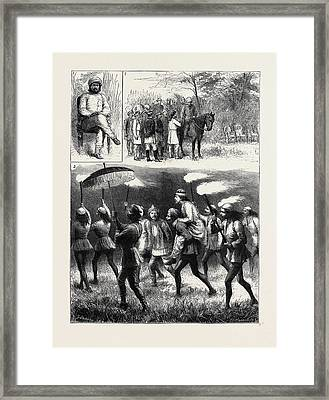 The Indian Tour Of H.r.h. The Prince Of Wales Reminiscences Framed Print