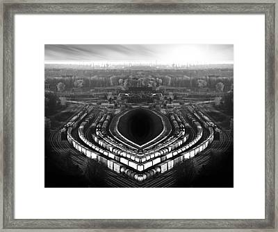 The Industrial Accident Framed Print