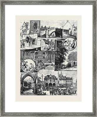 The Industrial Exhibition At Peterborough Framed Print by English School
