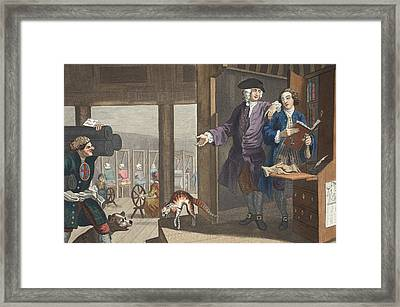 The Industrious Prentice A Favourite Framed Print