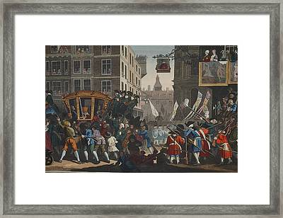 The Industrious Prentice Lord Mayor Framed Print by William Hogarth