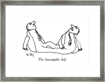 The Inescapable Self Framed Print