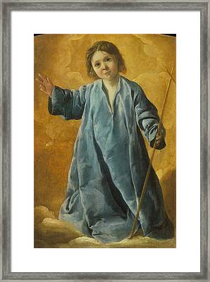 The Infant Christ Framed Print