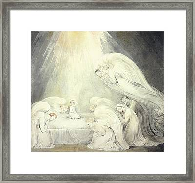 The Infant Jesus Saying His Prayers Framed Print