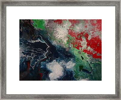 The Infinity Of My Soul Framed Print by Jean-francois Suys
