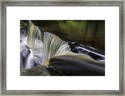 Infinity Pool At Enders State Forest  Framed Print by Thomas Schoeller