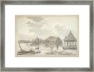 The Inhabitants Of Bolsheretsk Framed Print by British Library
