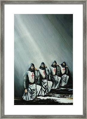 The Initiation Framed Print
