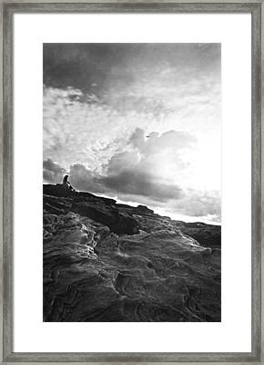 The Initiation Framed Print by Saami Ansari