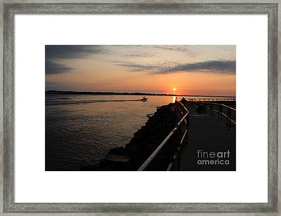 The Inlet Framed Print