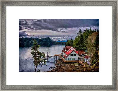The Inlet Painitng Framed Print