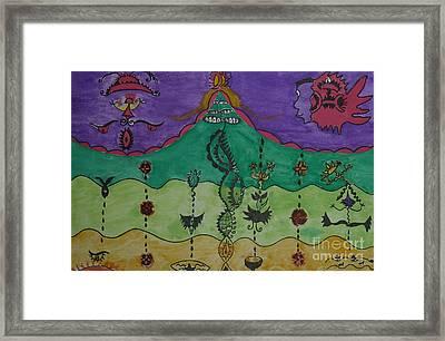 The Inner Life Framed Print by Lola Nunez