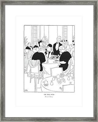 The Inner Man  French Pastry Framed Print