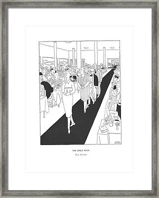 The Inner Man  New Arrivals Framed Print