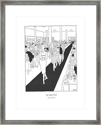 The Inner Man  New Arrivals Framed Print