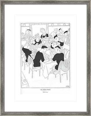 The Inner Man  Ordering Framed Print by Gluyas Williams
