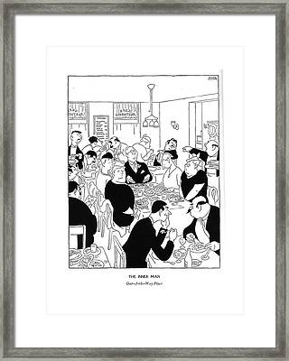 The Inner Man  Out-of-the-way Place Framed Print