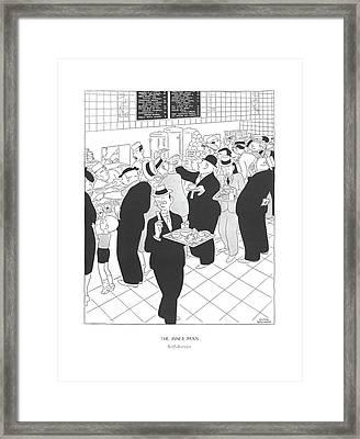 The Inner Man  Self-service Framed Print