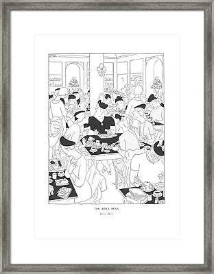The Inner Man  Strict Diet Framed Print