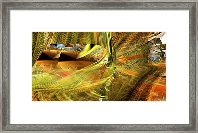 Framed Print featuring the digital art The Inner Workings by rd Erickson