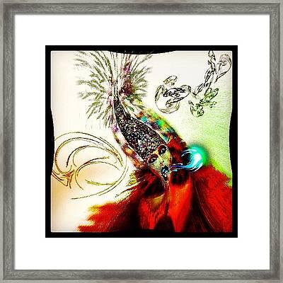 The Insane Clown Framed Print