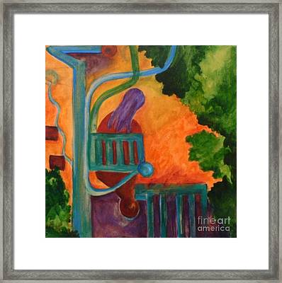 The Inspiration- Caprian Beauty Series 2 Framed Print by Elizabeth Fontaine-Barr