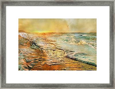 The Inspirational Sunrise Framed Print