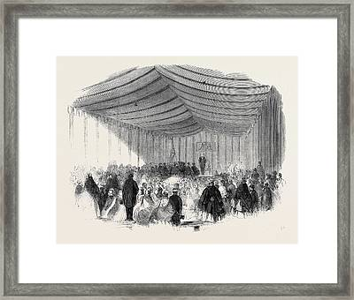 The Installation Ceremony At The Court Of Shepway Dover Framed Print